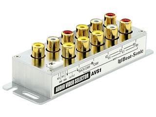 映像・音声自動切換器 AVS1