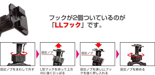 LLフック交換方法