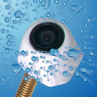 カメラ本体は防滴、防水構造!