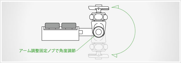 QBD24 ボールヘッド付のL型フック・LLフック 豊富な別売ホルダーと合体させて色々なものが固定できます。ボールヘッド付のL型フックなので上下左右や回転させて使いやすい向きに固定できます。
