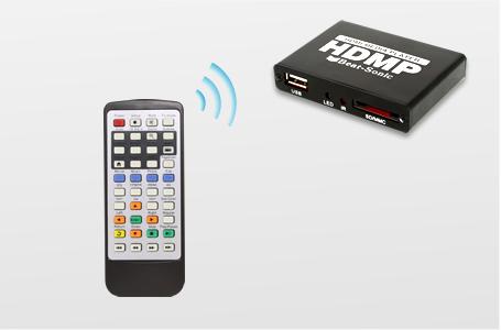 SDカード、USBストレージのメディアを再生
