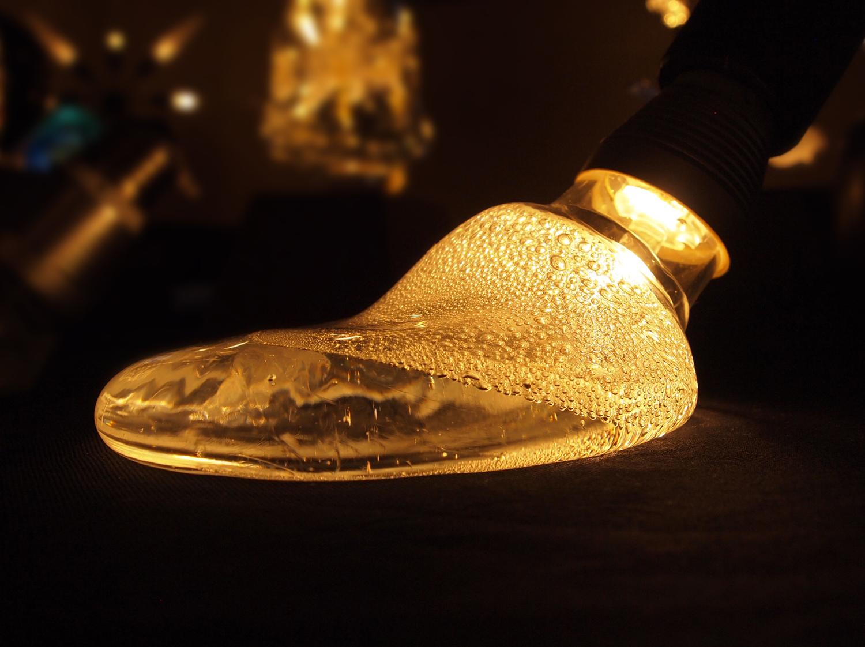 溶岩タイプの照明