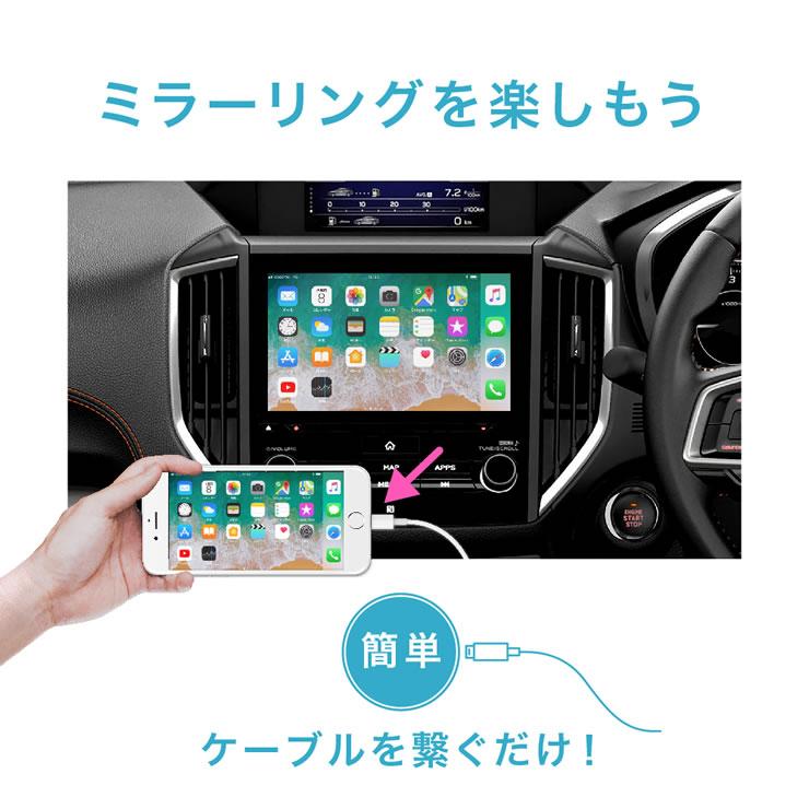 iPhone・iPadをミラーリング
