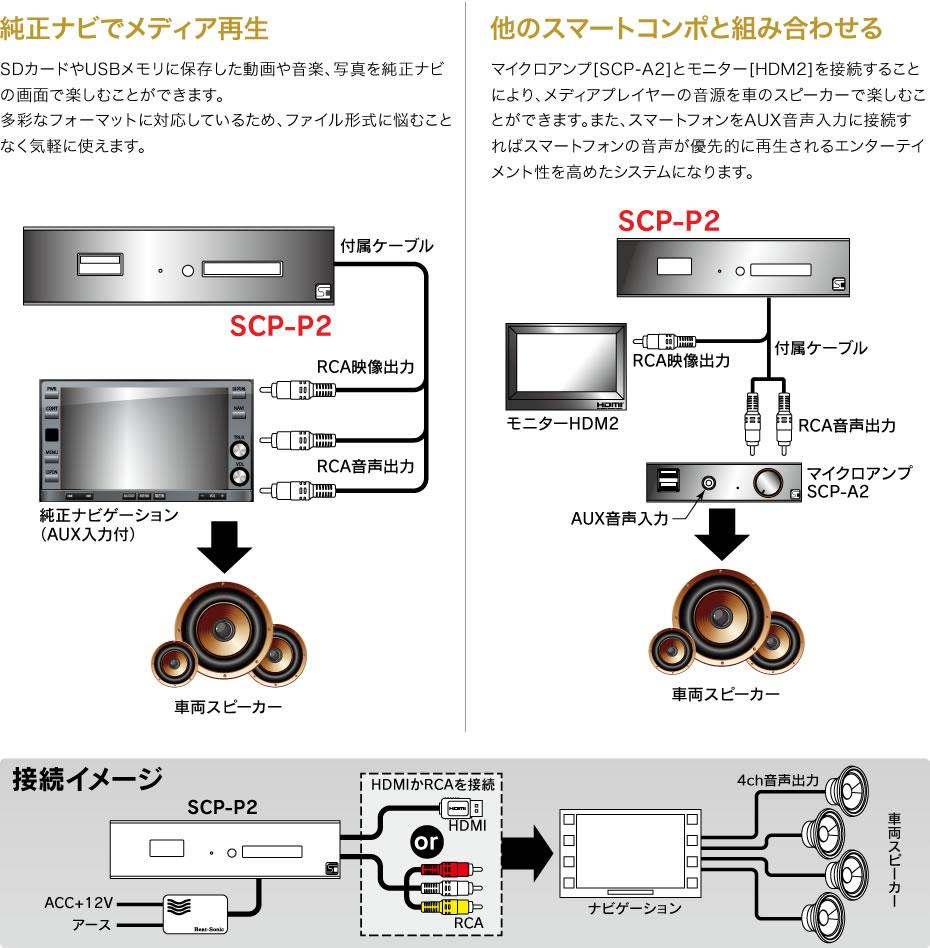 SCP-P2 使用例